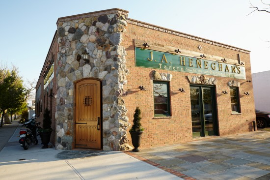 Exterior view of JA Heneghan's in Point Lookout, New York.