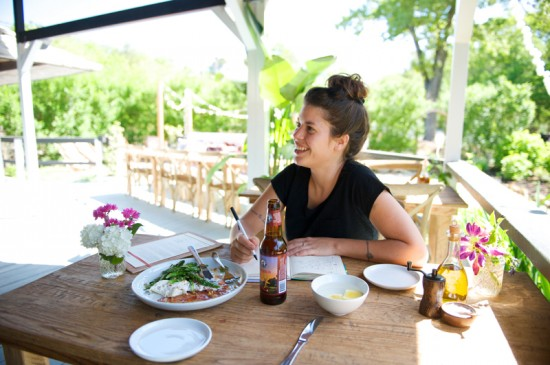 Executive Chef and Owner Lucia Soria at Station in East Quogue.