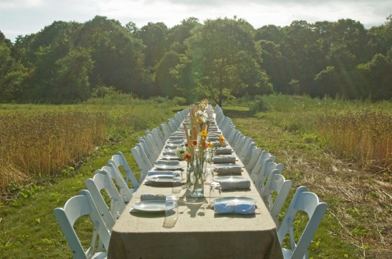 Isabella's Farm to Table dinner.