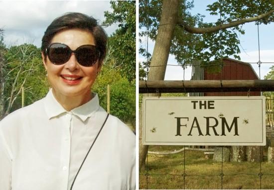 Isabella Rossellini's farm.